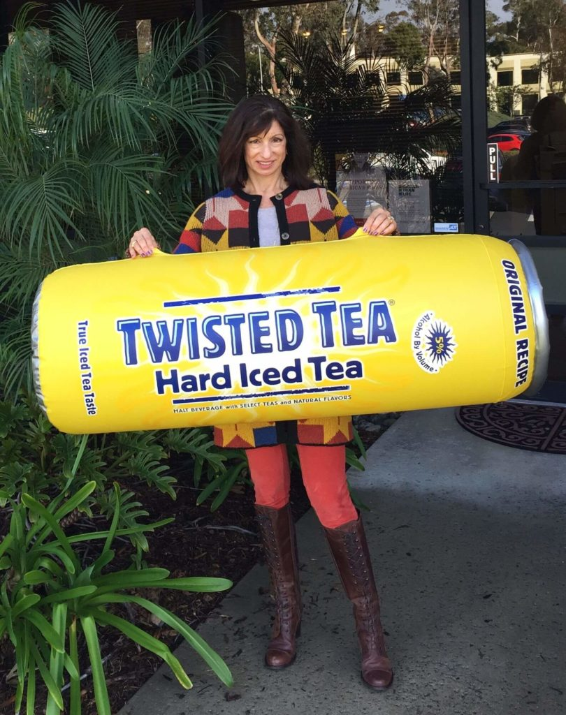 02_Boston Beer_Twisted Tea Point of Sale Sealed Inflatable