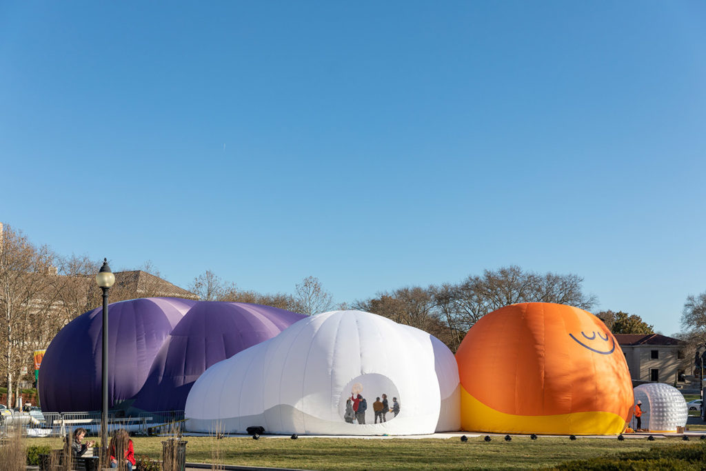 02_Headspace_Inflatable Meditation Structure