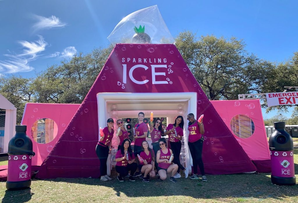 04_Sparkling Ice SXSW_Inflatable Event Structure