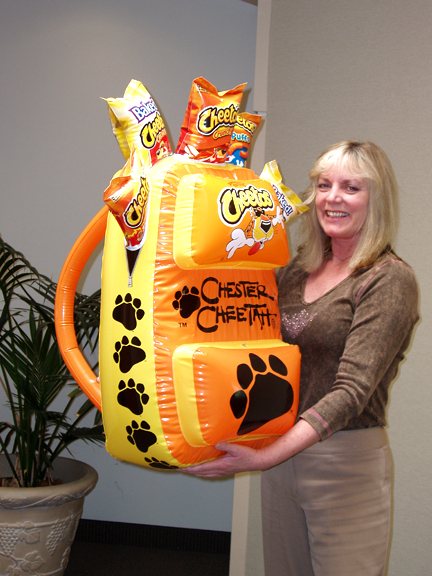 05_Frito-Lay Cheetos_Inflatable Point of Sale Backpack Display