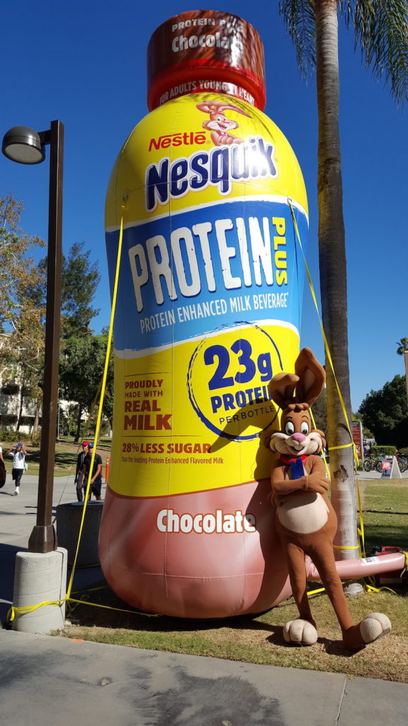 05_Nestle Nesquik_Giant Cold-Air Inflatable Bottle