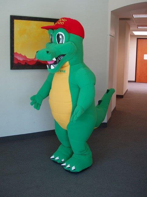 05_Simple Green_Inflatable Alligator Egbar Costume