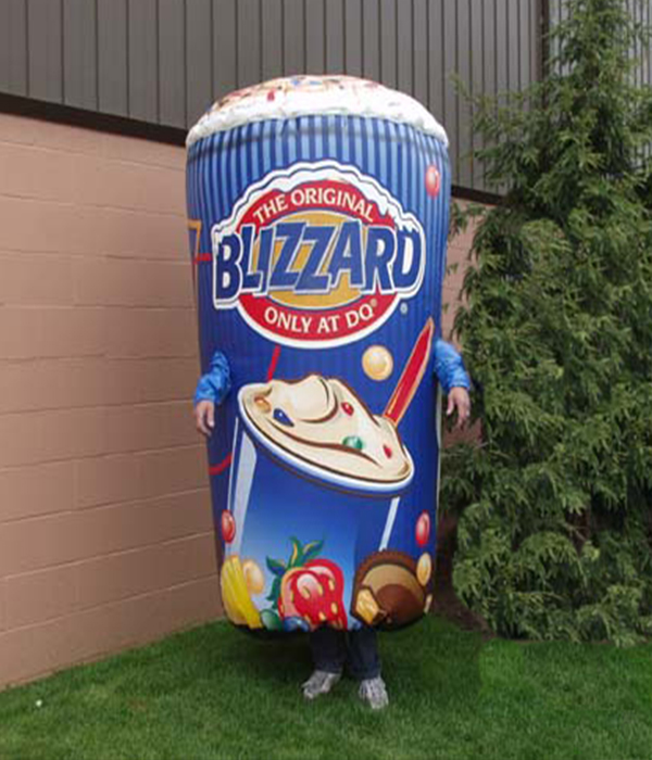 06_Dairy Queen_Inflatable Blizzard Walkabout Costume