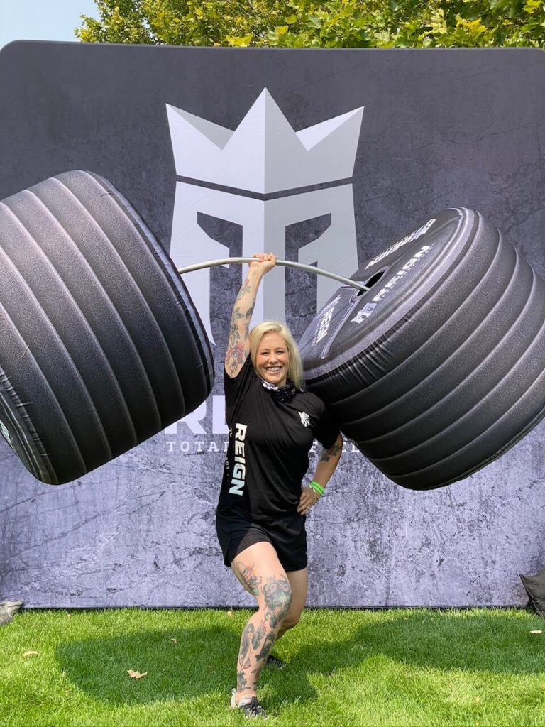 08_Reign Body Fuel_Sealed Inflatable Deadlift Weights Photo Prop