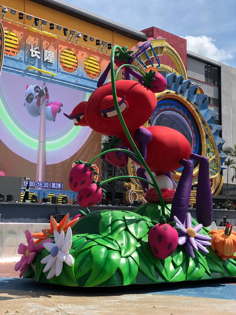 09_Chimelong Group_Cold-Air Parade Inflatable – Ant