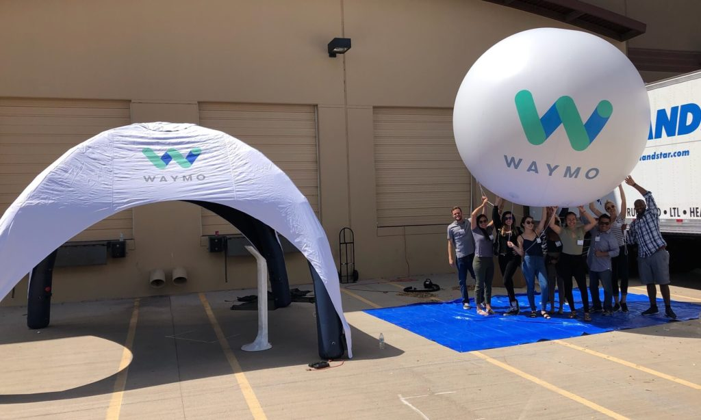 21_Google Waymo_Sealed Inflatable Tent and Sphere
