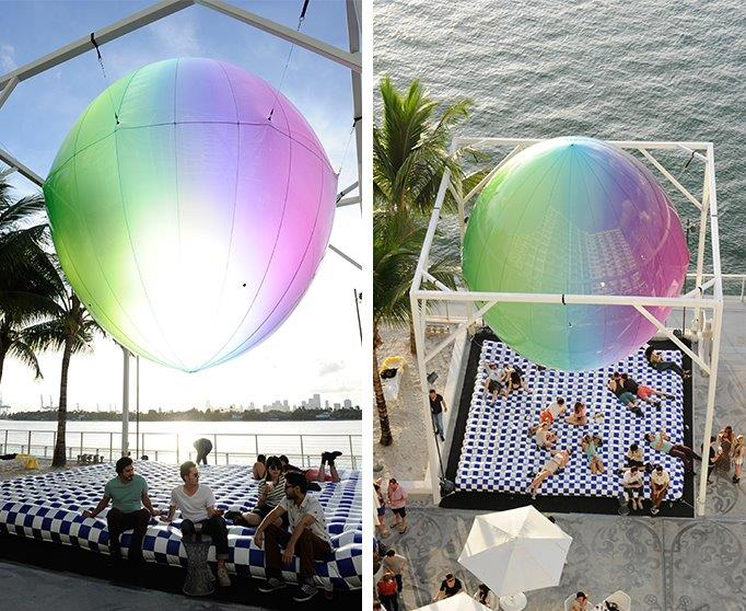11_FriendsWithYou_Mondrian Hotel – Art Basel – Sealed Spheres