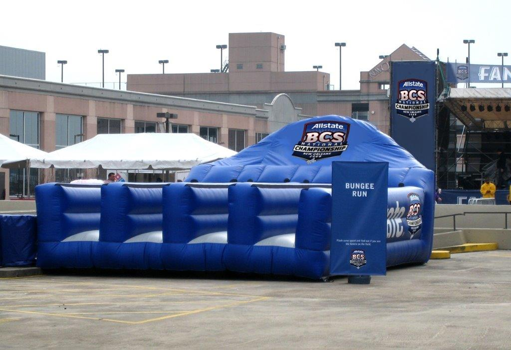 12_Allstate_ Interactive Inflatable Bungee Run 1