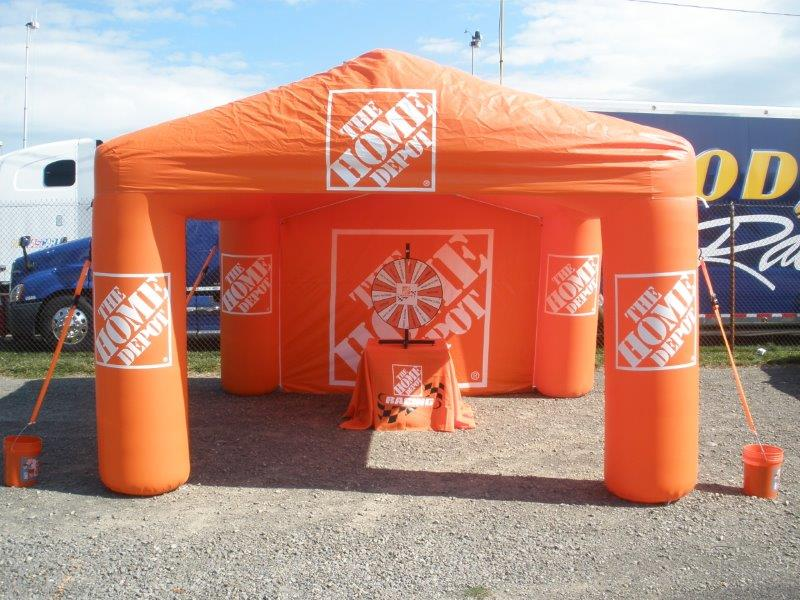 13_Home Depot_Inflatable Event Tent