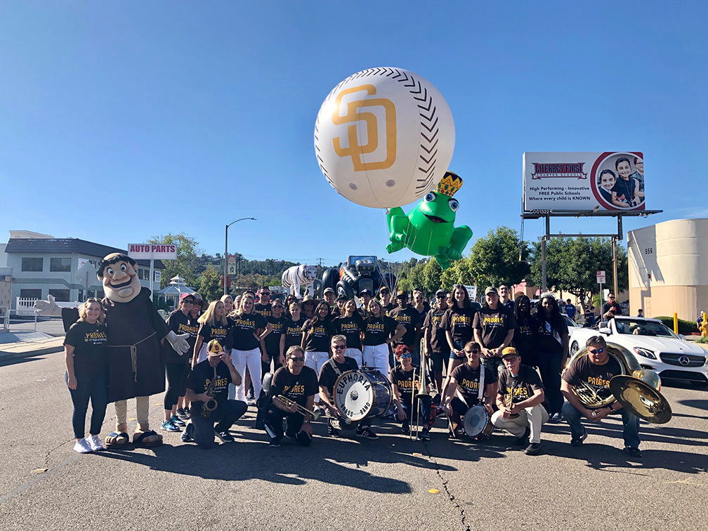 15_San Diego Padres_Parade Helium Inflatable Baseball