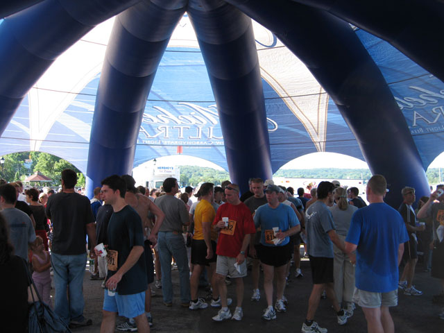 16_Michelob Ultra_Giant Inflatable Spider Tent