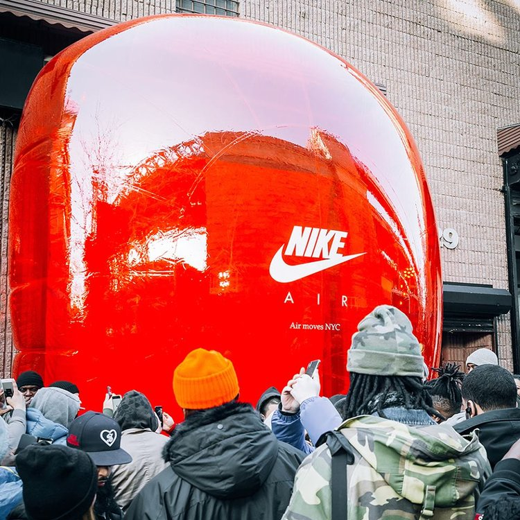 14_Nike Air Max Day_NYC Inflatable Entrance