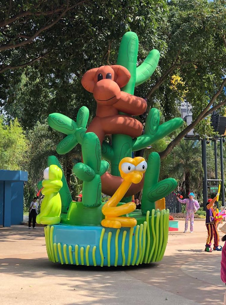 25_Chimelong Group_Cold-Air Parade Inflatable – Monkey