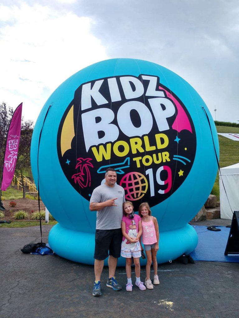 27_Kidz Bop 2019 Tour_Giant Inflatable Sphere