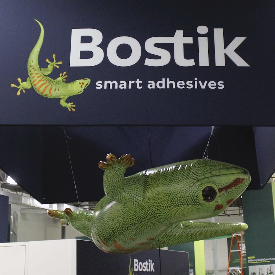 29_Bostik Trade Show Upside-Down Gecko Inflatable