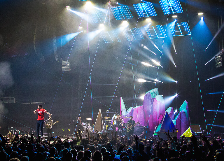 31_Imagine Dragons_Inflatable Stage Props