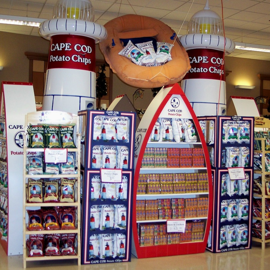 32_Frito-Lay Cape Cod Chips POP Inflatable Display