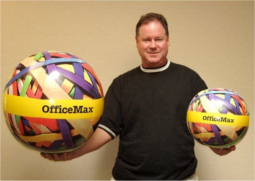 38_OfficeMax_Rubber Band Balls – Sealed Inflatable