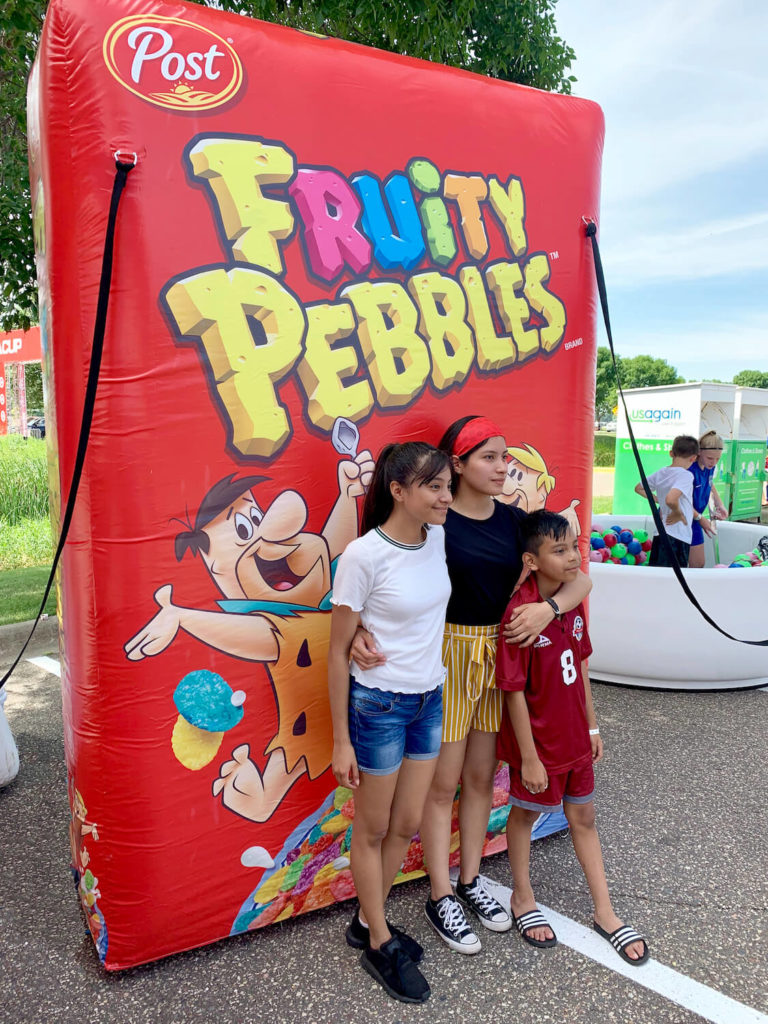 38_Post Cereal_Fruity Pebbles Inflatable Box