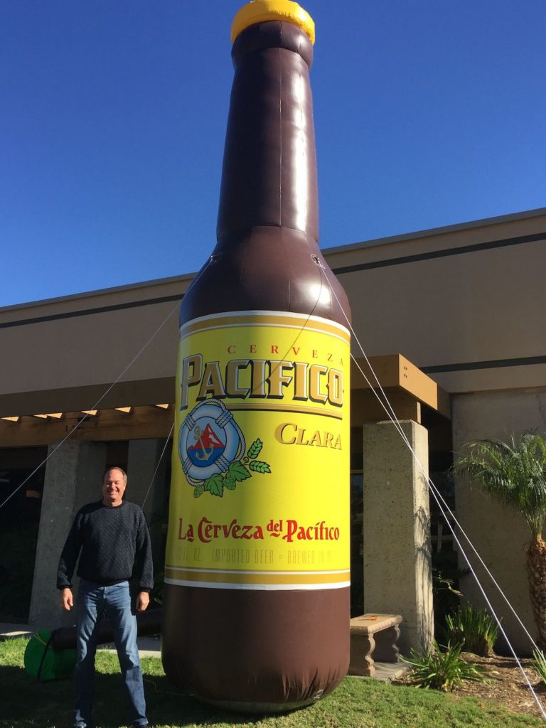39_Pacifico Bottle_20 ft. Giant Inflatable Bottle