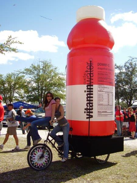 50_Vitamin Water_Giant Cold-Air Bottle Inflatable