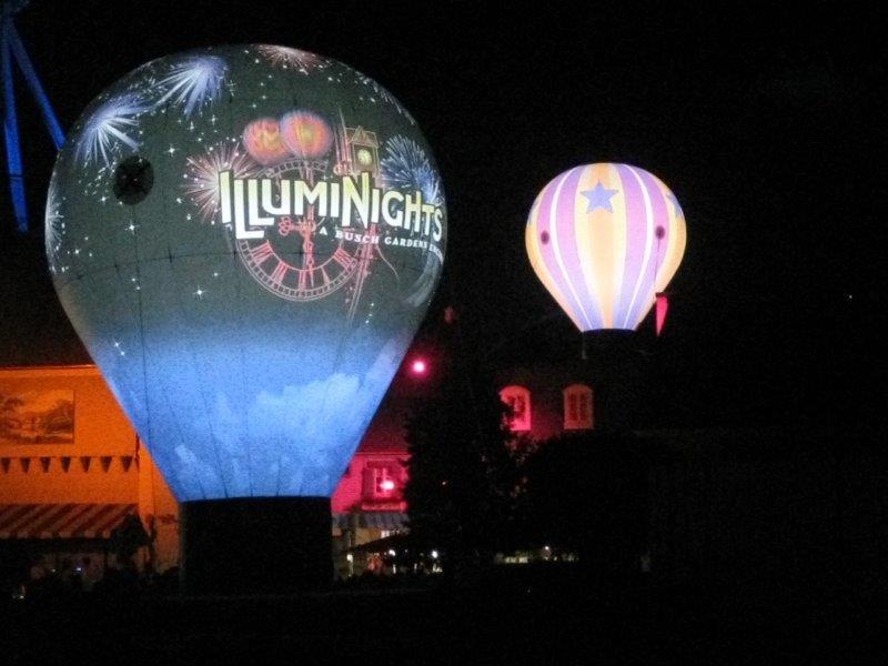 53_Sea World_Inflatable Hot Air Balloon