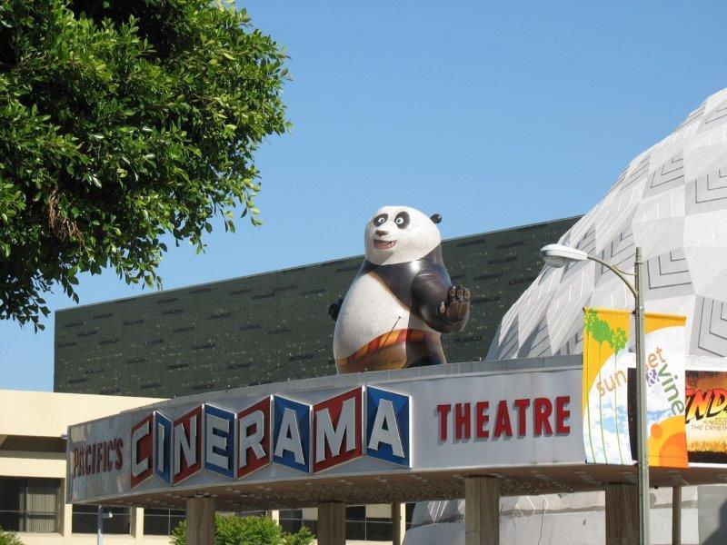 57_Kung-fu Panda_Giant Rooftop Inflatable
